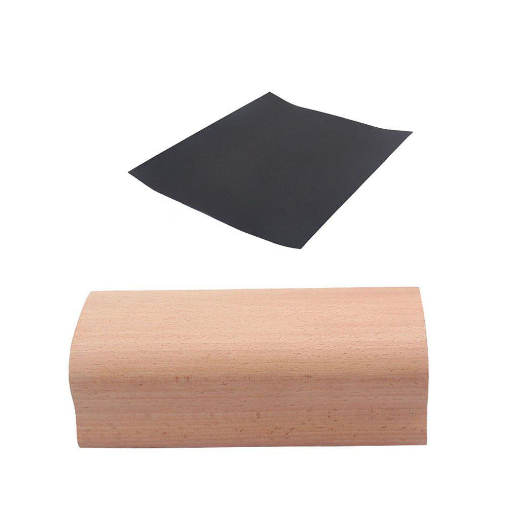 New Radius Sanding Block 20cm Luthier Tool for Fret Leveling Fingerboard Inlay - WOODEN VERSION