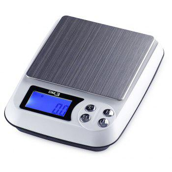 MD3 Portable High-Precision Electronic Jewelry Scale - WHITE