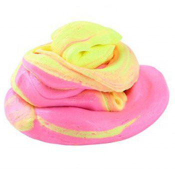 New Three-color Decompression Vent Mud - PINK / YELLOW