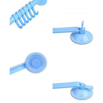 Snap-type Strong Suction Cup Nail-free Multi-purpose Hook - BLUE