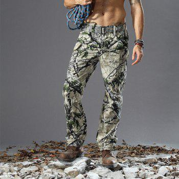 Pantalon de camouflage Outdoor Survival Transport Pantalon de survêtement Casual - Terrain Camouflage L
