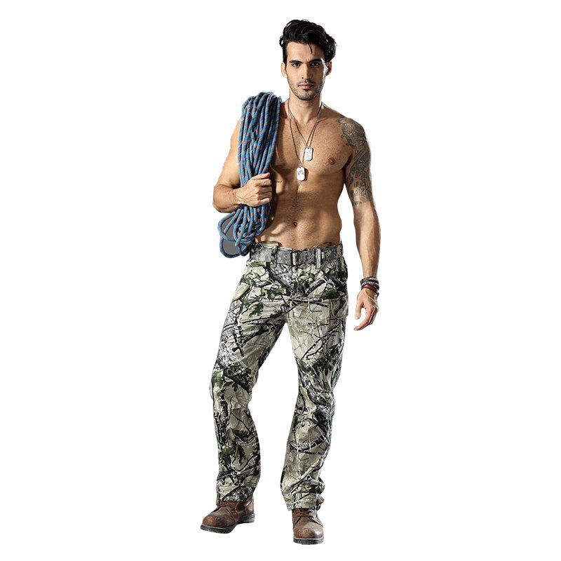 Pantalon de camouflage Outdoor Survival Transport Pantalon de survêtement Casual - Terrain Camouflage XL
