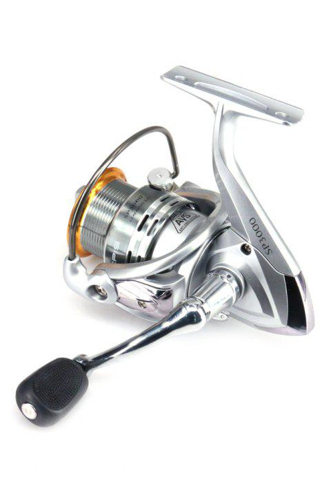 Fishing Reel SP Spinning Reel With Shallow Spool - SILVER SP3000