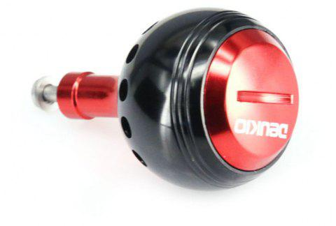 DEUKIO Fishing Gear DIY Accessories 35MM Knob - BLACK/RED 35MM