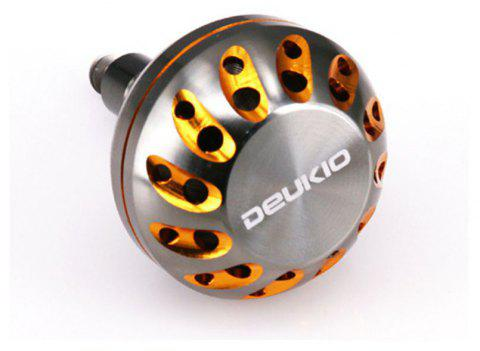 DEUKIO Fishing Gear DIY Accessories 45MM CNC Metal Knob - GOLDEN 45MM