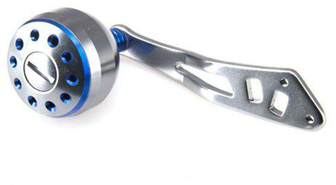 DEUKIO 2018 New Fishing Reel Handle CNC Carved Handle Size 38mm For The Baitcasting Round Reel - BLUE