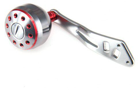 DEUKIO 2018 New Fishing Reel Handle CNC Carved Handle Size 38mm For The Baitcasting Round Reel - RED