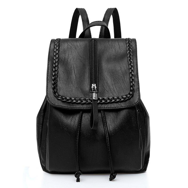 LX  Large Capacity Lady's Backpack - BLACK