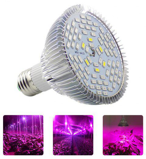 YWXLight E27 12W Full Spectrum Led Plant Lamp Indoor Growth for Flower Veg AC 90 - 260V - PURPLE