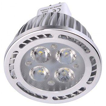 10PCS YWXLight MR16 3030SMD Decorative Spotlight Lamp AC / DC 12V - COOL WHITE LIGHT