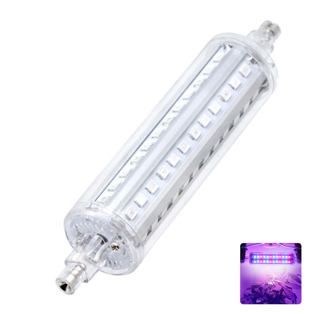 YWXLight R7s 72LEDS Grow Lights Indoor Lamp for Plants Ac 85 - 265V - PURPLE