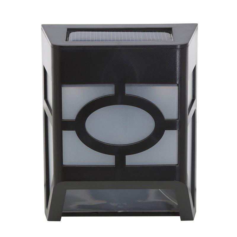 1PCS Polycrystalline silicon solar light-operated Super Bright Wall Mount Outdoor Garden Lamp 16 led weatherproof outdoor garden security wall light path lamp