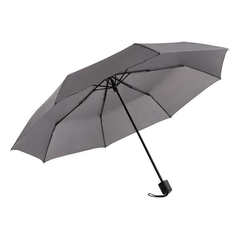 Super Windproof Rain Umbrella Men Travel Umbrella - GRAY