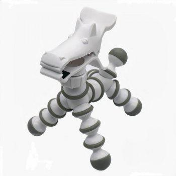 Small Zebra Tripod for Phone - WHITE