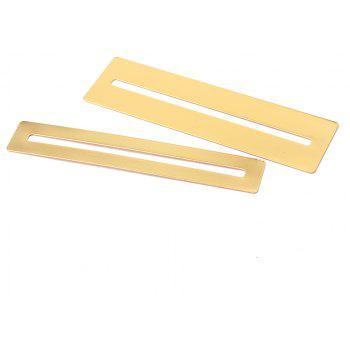Stainless Steel Fretboard Fret Protector Fingerboard Guards for Guitar Bass Luthier Tools 2PCS - GOLDEN