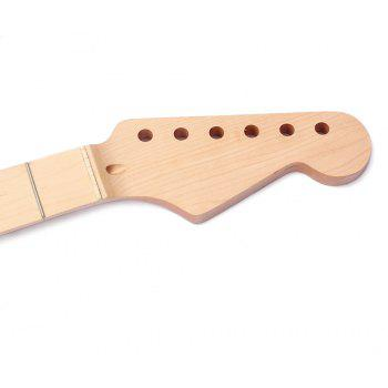 22 Fret Maple Fretboard Electric Guitar Neck for ST - WOODEN VERSION