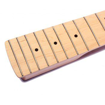 21 Frets Right Handed 5 String Electric PB Bass Neck - WOODEN VERSION
