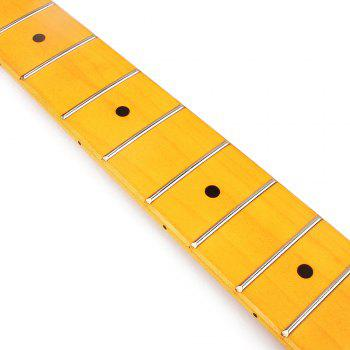 21 Fret Inferior Smooth Yellow Maple TL Guitar Neck - YELLOW