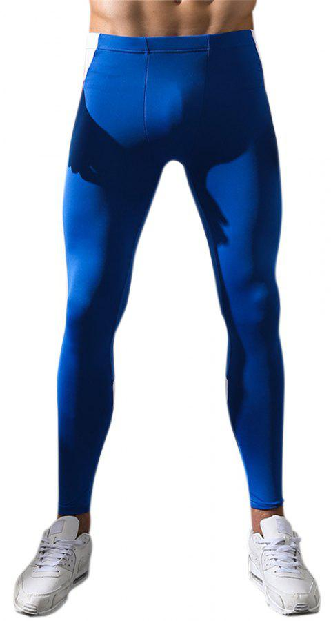 Men's Body and Elastic Pants - AZURE 2XL