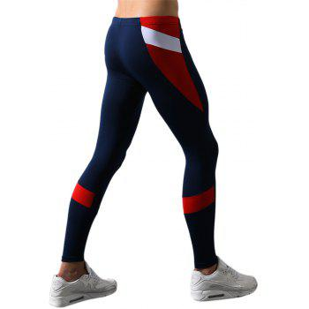 Men's Body and Elastic Pants - CERULEAN L