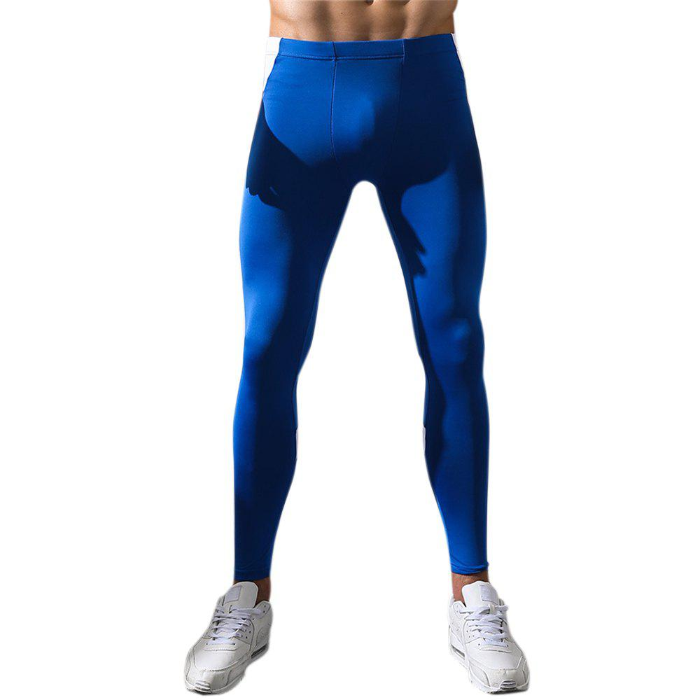 Men's Body and Elastic Pants - AZURE XL