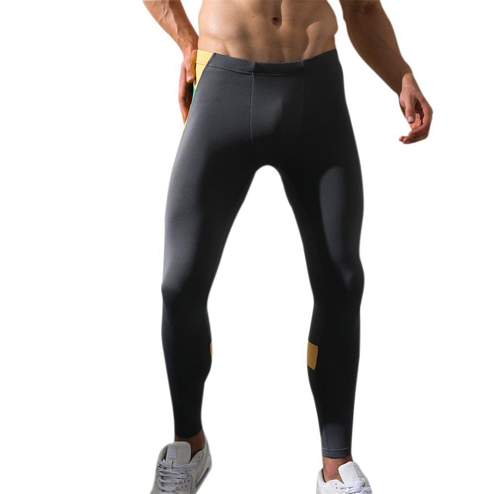 Men's Body and Elastic Pants - GRAY L