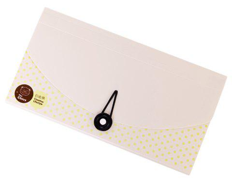 Creative Bear Tissue Bill Packs Multi-Tiered Check Invoice Postcards - WHITE 26X12.7X3.2CM
