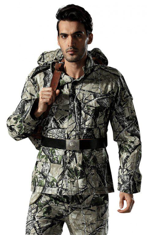 Field Camouflage Outdoor Hunting Snowfield Wear Resistant Training Coat - TERRAIN CAMOUFLAGE M