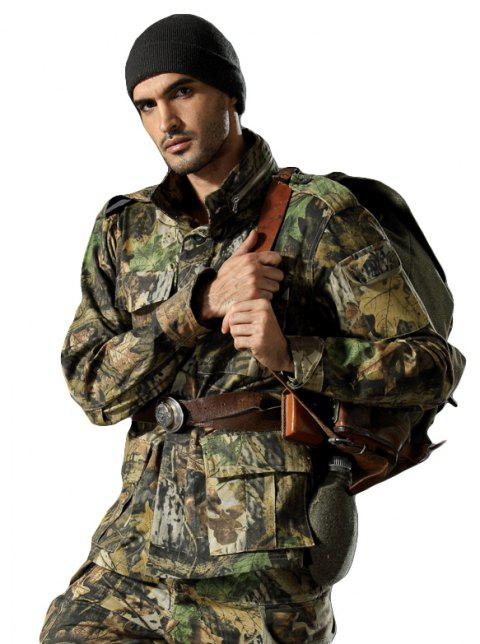 Field Camouflage Outdoor Hunting Snowfield Wear Resistant Training Coat - JUNGLE CAMOUFLAGE L