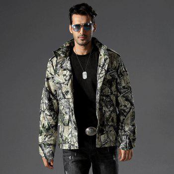 Field Camouflage Outdoor Hunting Snowfield Wear Resistant Training Coat - TERRAIN CAMOUFLAGE L