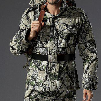 Field Camouflage Outdoor Hunting Snowfield Wear Resistant Training Coat - TERRAIN CAMOUFLAGE XL