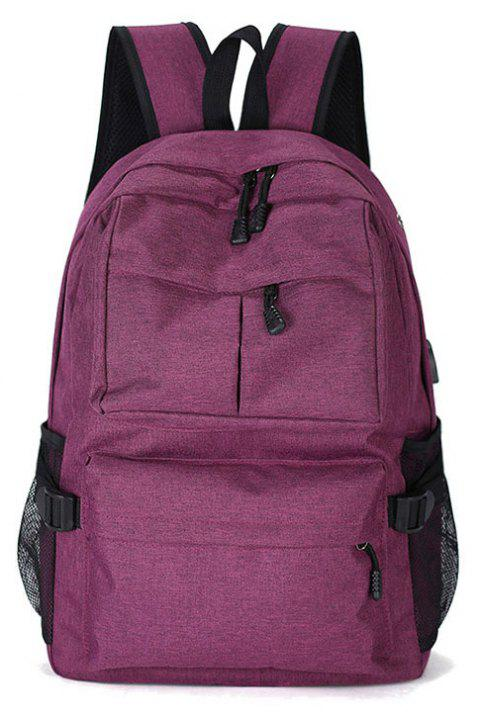 Outdoor Travel Computer Backpack Travel Backpack Student Bag - RED VERTICAL