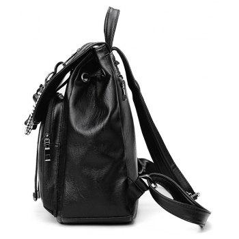 Good Match Fashion New Style Backpack Package Cover Type - BLACK