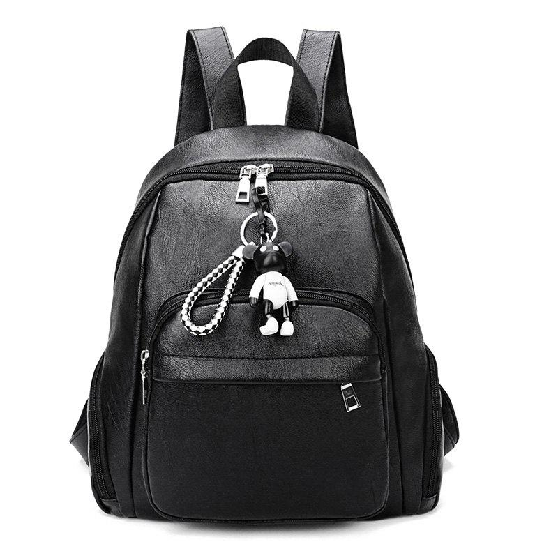 Bon Style Fashion New Style Backpack Package Cover Type PU - Noir