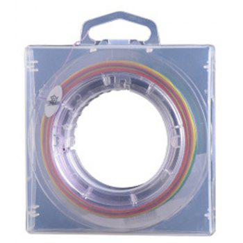 100 Meters Raft Main Sub Super Strong Horse Power 8 Weaving PE Fishing Line - COLOUR 7