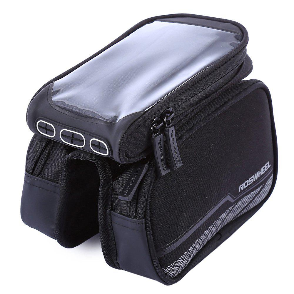 Roswheel 12813 - A2 Cycling Bag  -  BLACK - BLACK