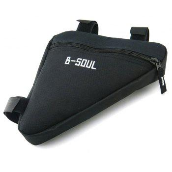 B-SOUL Outdoor Ultralight Bicycle Triangle Bag - Noir