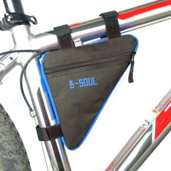 B-SOUL Outdoor Ultralight Bicycle Triangle Bag - Bleu