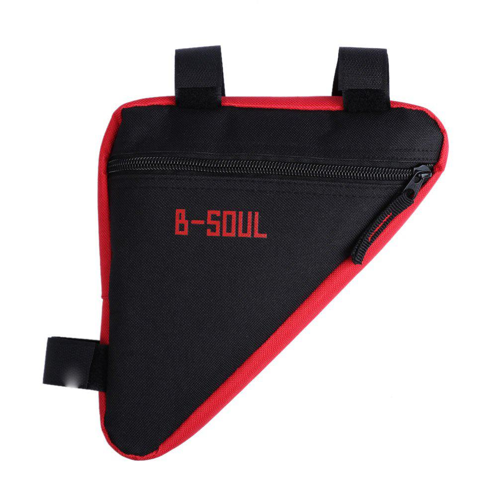 B-SOUL Outdoor Ultralight Bicycle Triangle Bag - RED