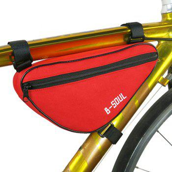 B-SOUL 1.5L Vélo Triangle Sac Tube avant - Rouge