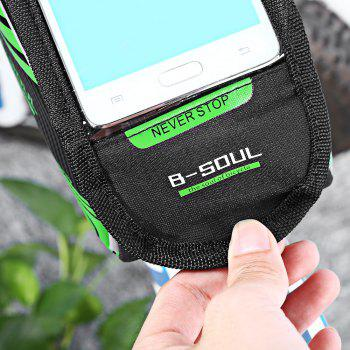 B-SOUL Bicycle Mount for 5.7 Inches Handlebar Phone Bag - IVY