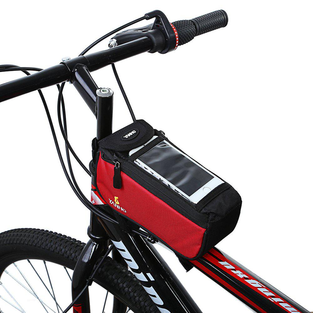 Original Yanho Bicycle Frame Bag - RED