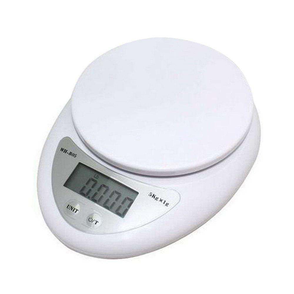 Kitchen Diet Postal Digital Scale Balance Measuring Weighing Scales - WHITE