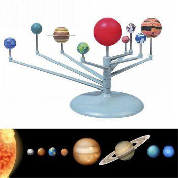 Solar System Planetarium Model Astronomy Science Project DIY Kids Gift - GRAY