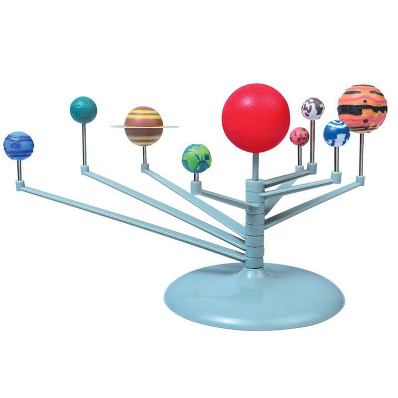 Solar System Planetarium Model Astronomy Science Project DIY Kids Gift - multicolor