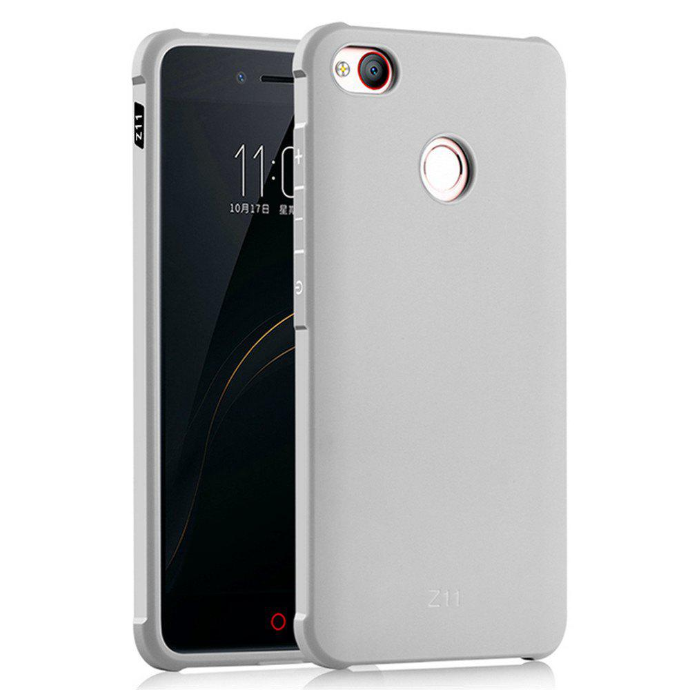 Shockproof Soft Silicone Case for Nubia Z11 Cover Case Fashion Full Protective Phone Case - GRAY