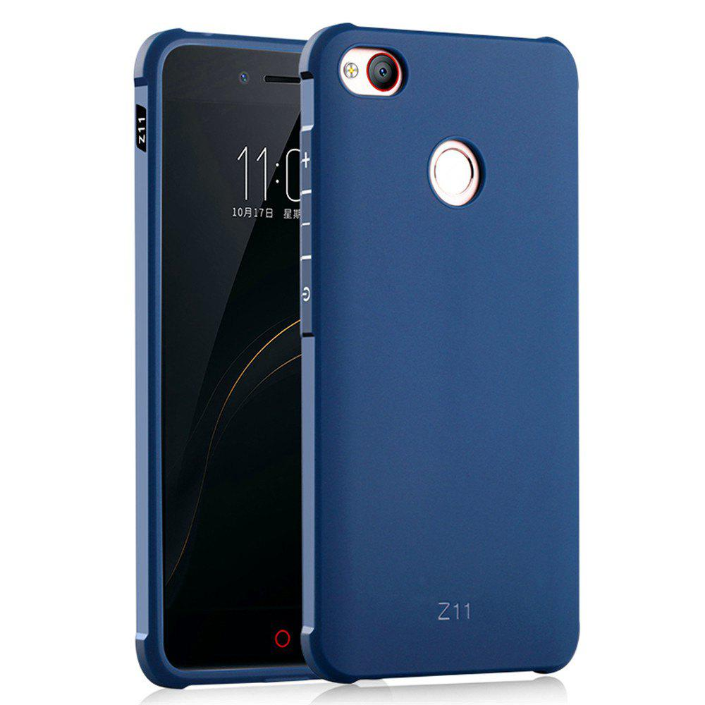 Shockproof Soft Silicone Case for Nubia Z11 Cover Case Fashion Full Protective Phone Case - BLUE