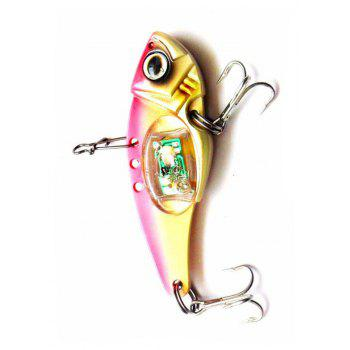 Luminous Artificial Bait Hook Lure Fishing Tackle - RED