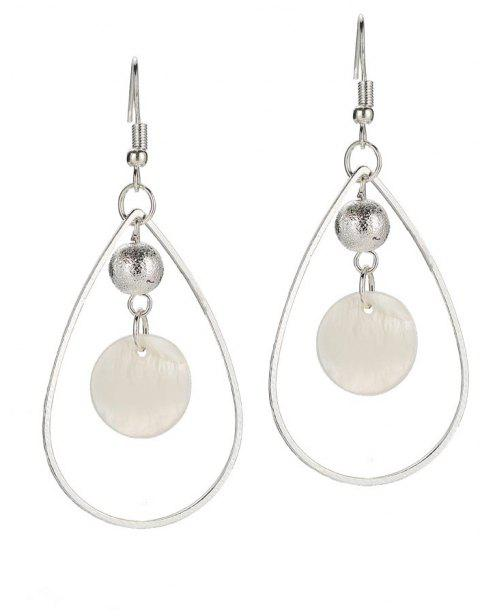 Fashion Simple Shell Earrings - SILVER