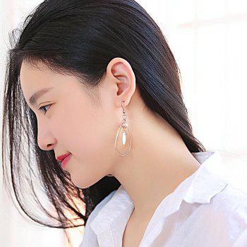 Fashion Simple Shell Earrings - ROSE GOLD